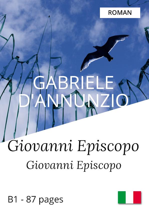 Roman bilingue italien Gabriele d'Annunzio