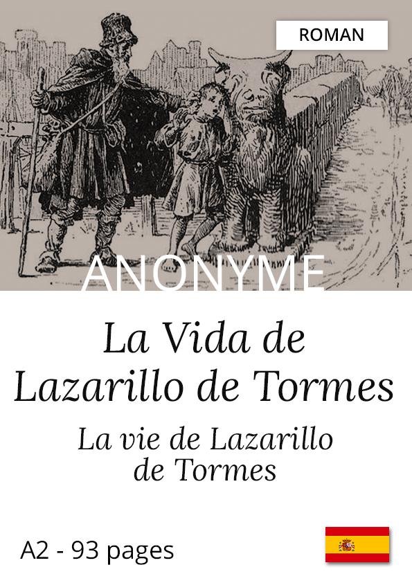 Livre espagnol bilingue Yesbook Lazarillo de Tormes roman auteur anonyme