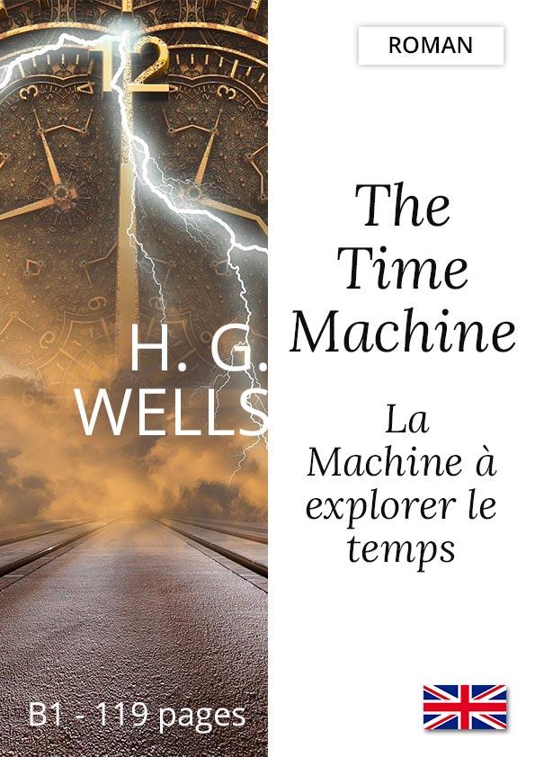 Livre bilingue Yesbook Machine à explorer le temps H.G. Wells-anglais