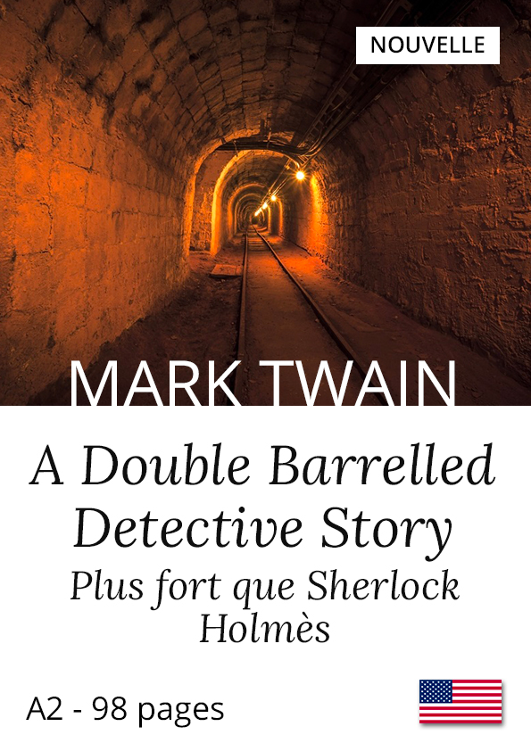 Livre anglais bilingue Yesbook Plus fort que Sherlock Holmes Mark Twain