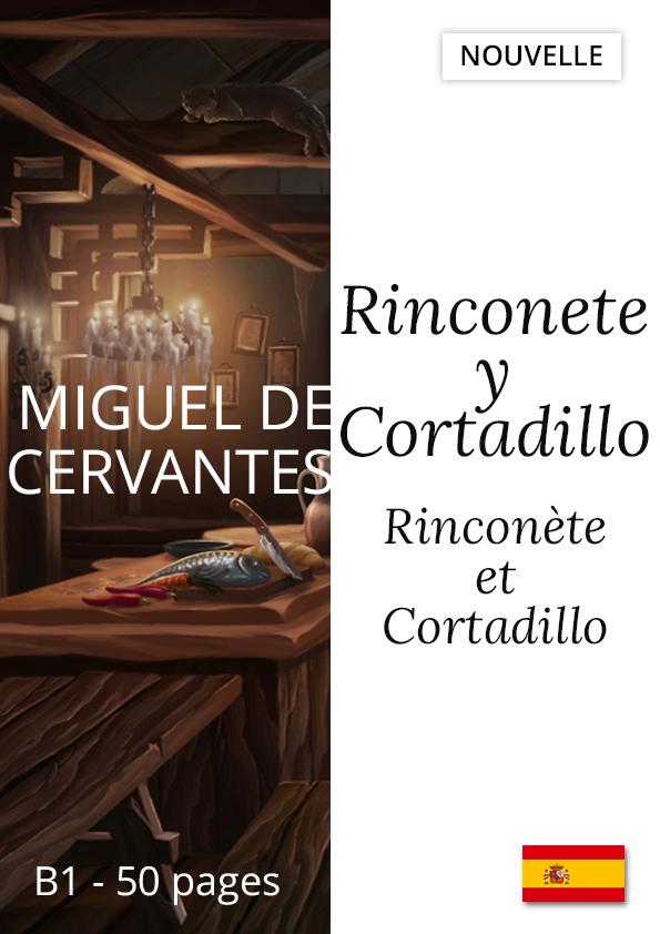 Livre espagnol facile bilingue Ronconete y Cortadillo