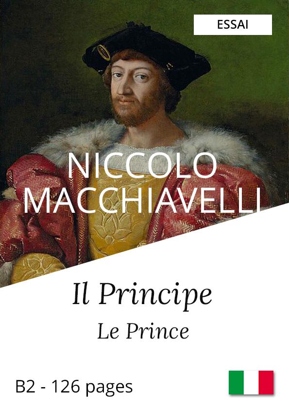 Livre italien bilingue Machiavel