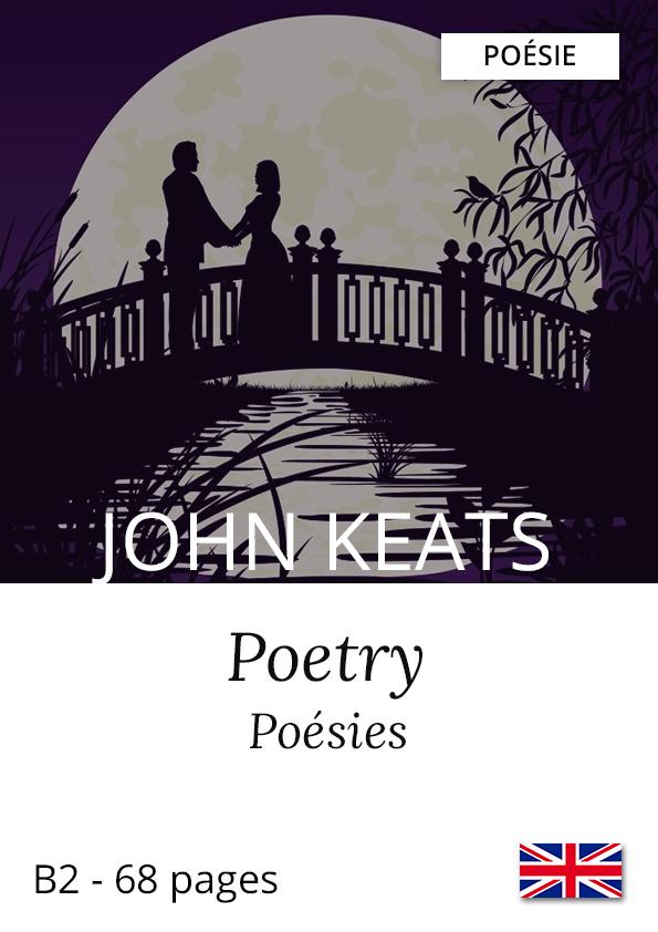 Recueil bilingue Yesbook Poetry John Keats poésie anglaise