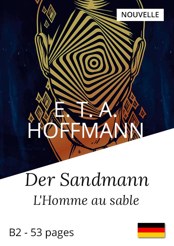 Livre allemand bilingue Yesbook Homme au sable E.T.A. Hoffmann Nouvelle