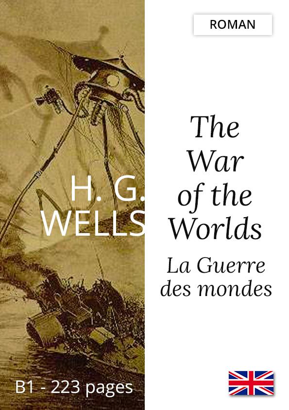 Livre bilingue Yesbook Guerre des mondes H.G. Wells roman anglais