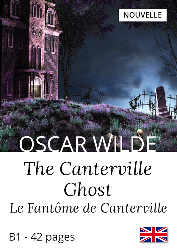 Livre anglais bilingue Yesbook Fantôme de Canterville Oscar Wilde nouvelle