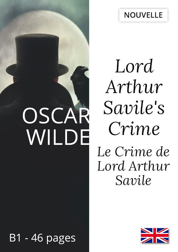 Livre anglais bilingue Yesbook Crime de Lord Arthur Savile oscar wilde